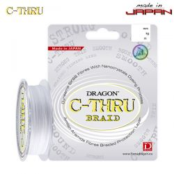 Шнур Dragon C-THRU Braid 125m 0.10mm/8.05kg прозрачный