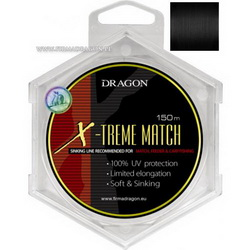 Леска Dragon X-TREME MATCH Soft&Sinking 150m 0.30mm 7.70kg
