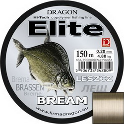 Леска Dragon ELITE Bream 150m 0.18mm 3.70kg