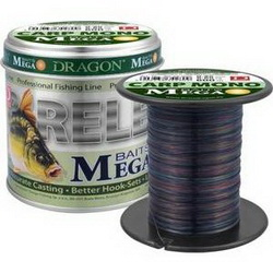 Леска Dragon MEGA BAITS CarpMono 600m 0.28mm 8.10kg