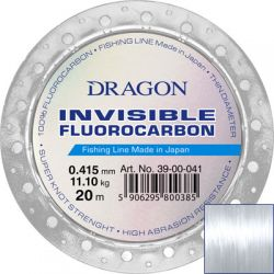 Флюорокарбон Dragon Invisible 20м 0.18mm 2.35kg