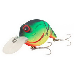 Воблер Spro PowerCatcher Crazy Perch 50 - Floating 5см 10.5гр Firetiger 1.2м