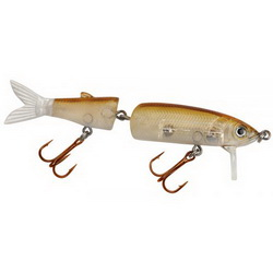 Воблер Spro PowerCatcher Jointed Fishtail Minnow 125 12.5см Transparent Shad