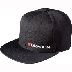 "Кепка DRAGON Hells Anglers ""Dragon""  flat front черная"