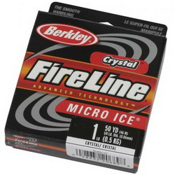 Зимний шнур Berkley FireLine Crystal Micro Ice 45m 0.15mm 7.90kg