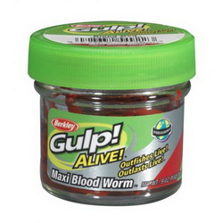 Мотыль Berkley Gulp! Alive Bloodworm