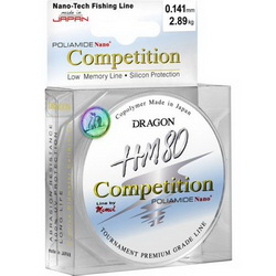 Леска Dragon HM80 Pro 50m 0.120mm Competition 2,28kg