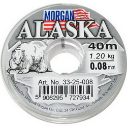 Зимняя леска Dragon Morgan Alaska 0.08mm 40m 1.8kg