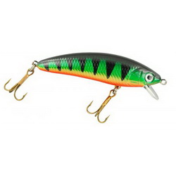Воблер Spro PowerCatcher Minnow 90 9см  10гр 1.5м Perch